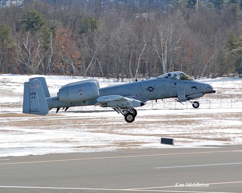 Barnes ANGB 104th Fighter Wing 28 Feb 2007